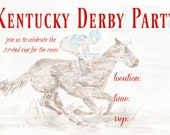 Kentucky Derby Party Invi...