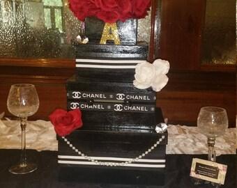 Custom Coco Chanel Gift Card Box