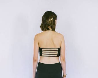 Bandeau with 5 Thin straps on back