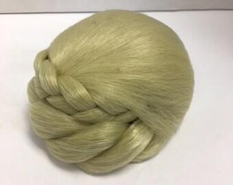 Stylish clip in Synthetic Braid Chignon bun