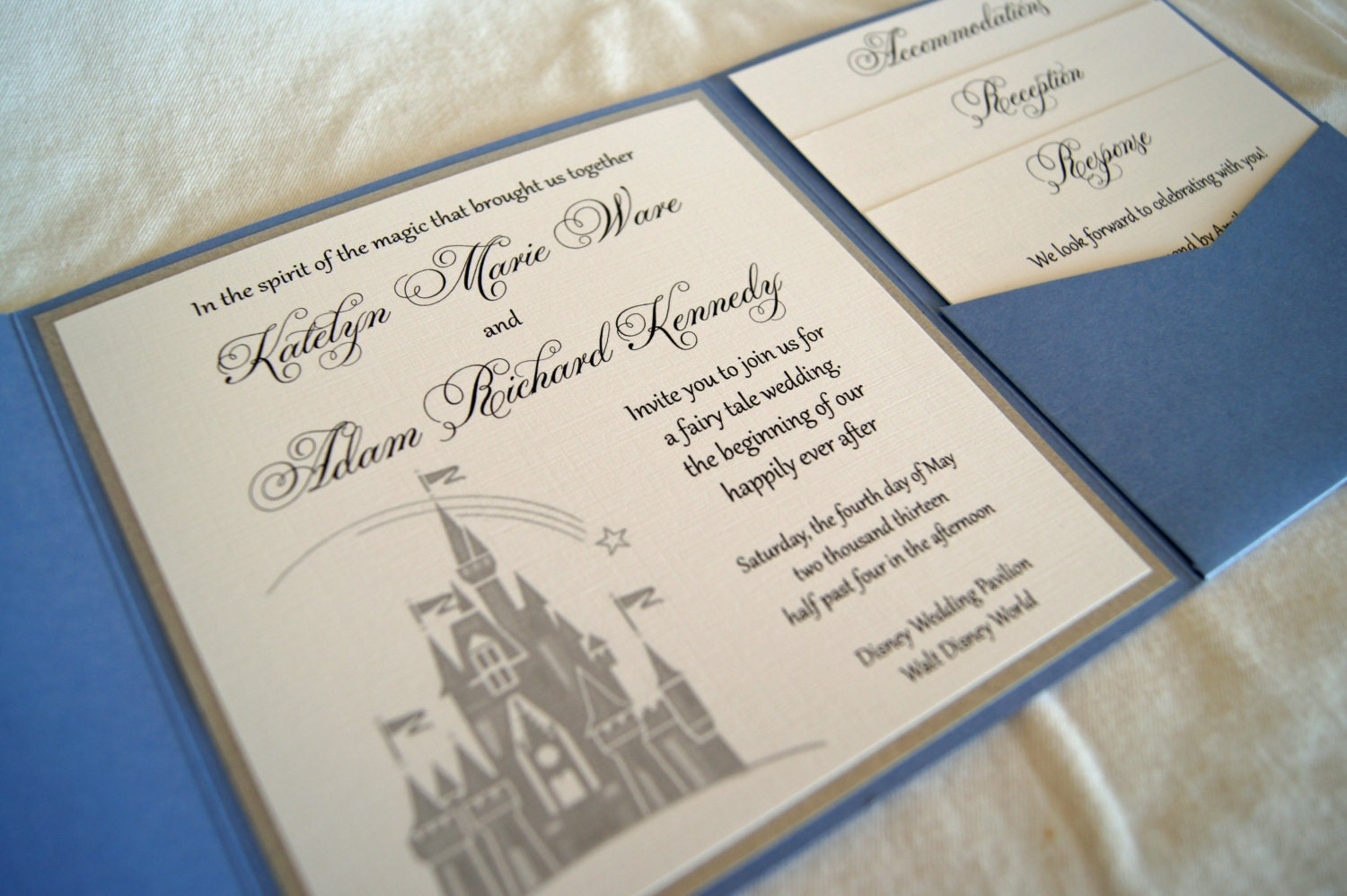 Fairytale Wedding Invites Uk | Wedding