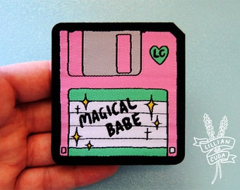 90's Magical Babe Floppy Disk Patch