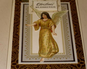 Christmas Blessing Angel Card