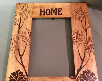 Home Picture Frame - Rustic country- Decorative - picture frame