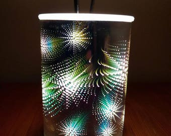 Aromatize  3D holographic wax melter , wax burner , electric uk supplier
