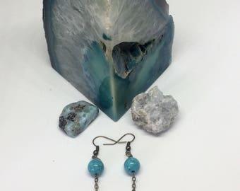 Turquoise Eye Earrings