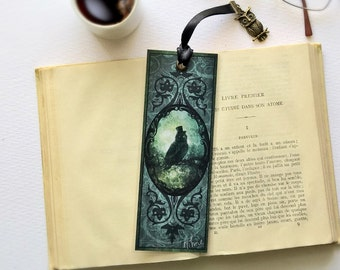 Handmade OWL Sir - illustrated, laminated, bookmarks
