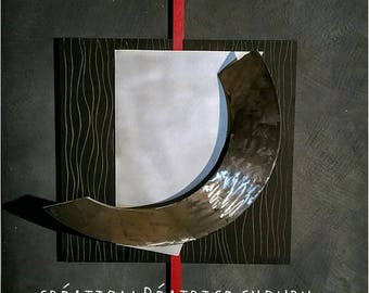 large wall sculpture ARCHI 100