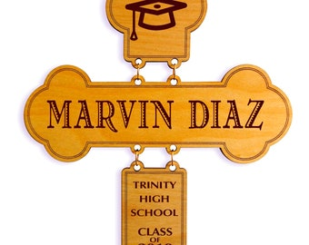 High School Graduation Gift - Gifts for College Graduate Class of 2018 - College Graduation Gift - Graduation Cross