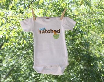 Just Hatched Dinosaur Newborn Infant Bodysuit - TW