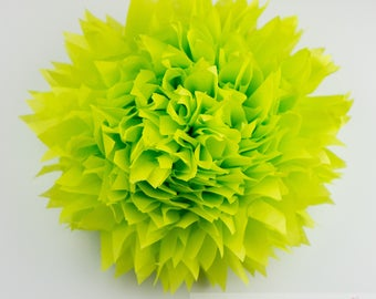 Citrus l 1 tissue paper Pompoms/single pompom/nursery room decoration/ baby shower/wedding/engagement/bridal shower/DIY/centerpiece
