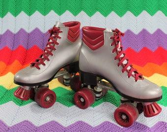 1970s/80s Silver Rocket Roller Skates