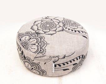 Meditation cushion, cushion, zafu, organic zafu, yoga gifts, yoga, meditation room, yoga cushion, meditation pillow, floor cushion, relax