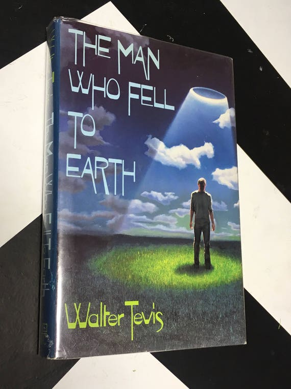 The Man Who Fell to Earth by Walter Tevis (Hardcover BCE, 1990)