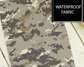 "CAMOFLAGE, WATERPROOF Fabric, by Yard, 150cm(59"") Width"