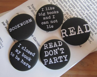 Badges DONT PARTY