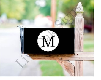Monogrammed Mailbox Cover - Free Shipping