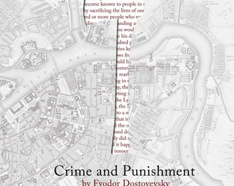 Crime and Punishment Poster Print