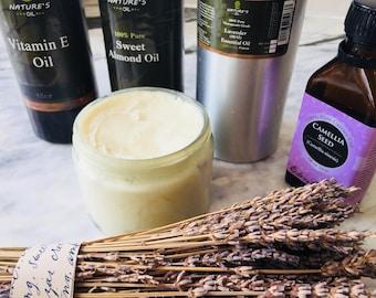 Organic therapeutic grade lavender Shea body butter