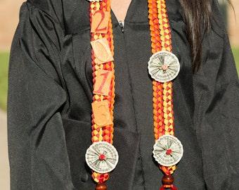 Graduation Money Lei, Custom Ribbon Lei, Braided Stole, Double Braid Money Lei, Folded Dollars, Graduation Necklace, Birthdays, Custom Order