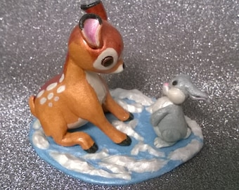 Bambi sculpture