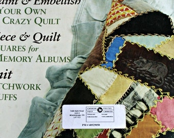 Piecework Magazine September October 2006 Quilting Knittting Pattern Wristlets Paper Originals NOT a PDF