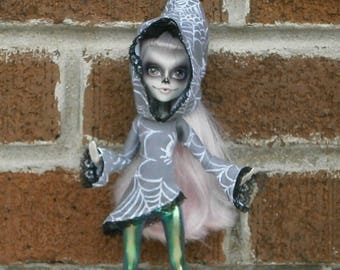 Pixie hooded tunic for monster high and ever after high dolls