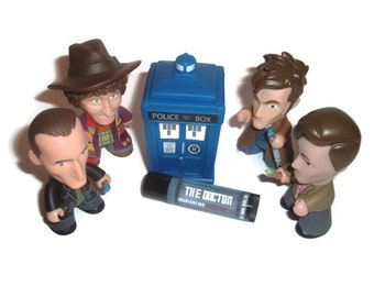 """The First Doctor """"The Doctor"""" Doctor Who Inspired Lip Balm - Red Velvet Cake Flavor Geek Stix"""