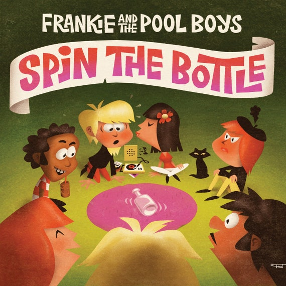 "NEW! Frankie & The Pool Boys ""Spin the Bottle"" CD"
