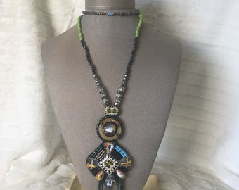 Bohemian Beaded Necklace