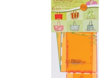 Trace 'n Create Bag Templates With Nancy Zieman, Florida Bag Collection:
