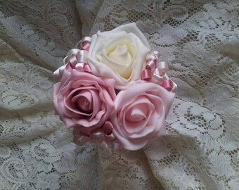 Bridesmaid flower wand