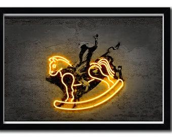 Affiche Rodeo by Octavian Mielu