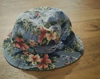 Floral/Hawaii Style Sun Hat