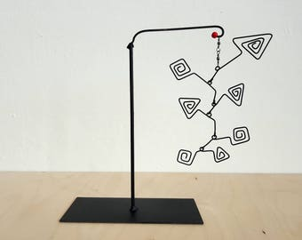 Mobile, stable, mid century, inspired by Calder
