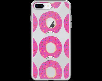 Donut sprinkles breakfast iPhone 6/6s, 6/6s Plus, 7/8, 7/8 Plus, X Case