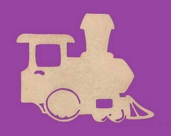 decorate in MDF, locomotive train medium support