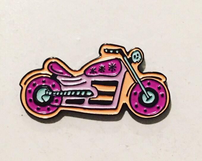 Pastel Motorcycle Enamel Pin