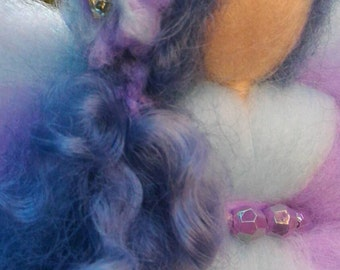 FAIRY SOFT CURLY wool fable and curly wool gift ideas for embellishing home