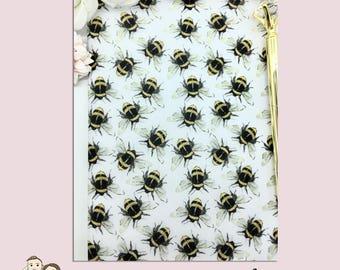 VELLUM DASHBOARD   Bumble Bee   Planner Stickers   Winged Beauty   Erin Condren   TN   V18
