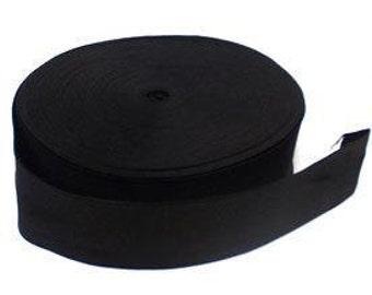 "1 yard Black 3"" wide wide boxer knit waistband elastic"