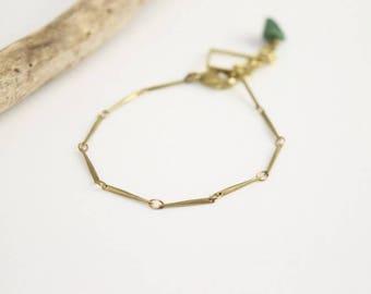 VALDIVIA• handmade bracelet with jade