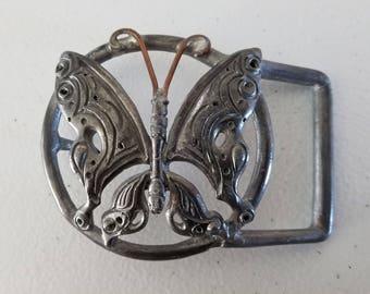 Butterfly Metal Belt Buckle
