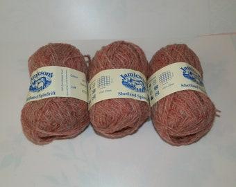 Shetland Spindrift  Knitting  Yarn-Wool....lot 1