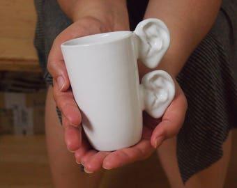 Ceramic Mug, Tea Mug,Teacup, Funny Teacup, Useful art