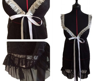 "Adjustable Nightie and bottom-""Glamour"" - size L/XL"