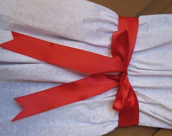 """New 3 yards Double Faced Red Satin Ribbon 1-1/2"""" wide, 1-1/2"""" Satin Sash"""