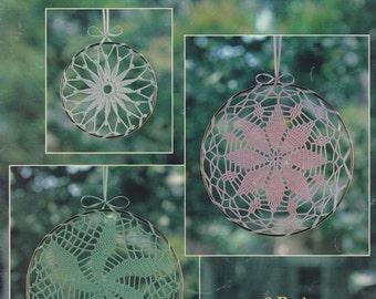 Lace Suncatchers, Leisure Arts Crochet Pattern Booklet 2127