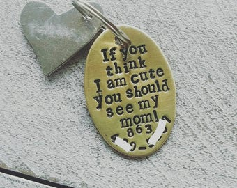 Dog tag for dogs,pet tag, dog tag, personalized dog tag, cute dog tag, funny dog, funny dog tag tag funny dog tag, custom dog tag,see my mom