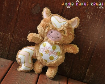 Personalized Plush Horse Pony / Stuffed Animal